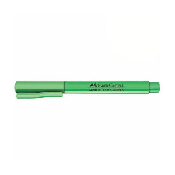 CANETA MARCA TEXTO GRIFPEN VERDE FABER-CASTELL